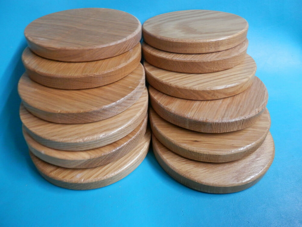 12 6 Quot X 3 4 Quot Hard Wood Circle Plaque Toy Wheel Cutout