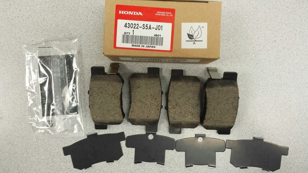 New Genuine Honda Civic Rear Brake Pads 43022 S5a J01 Ebay