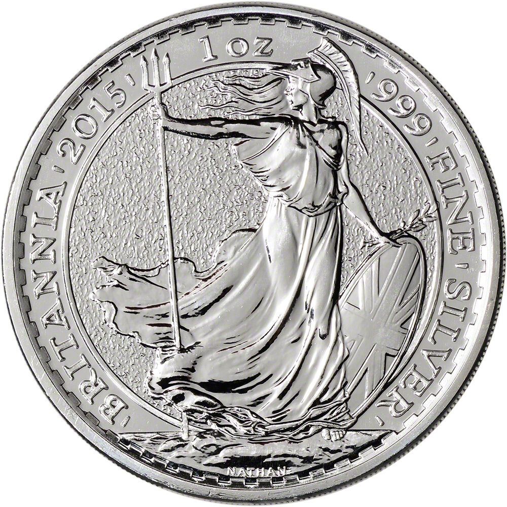 2015 Great Britain Silver Britannia 163 2 1 Oz Bu Ebay