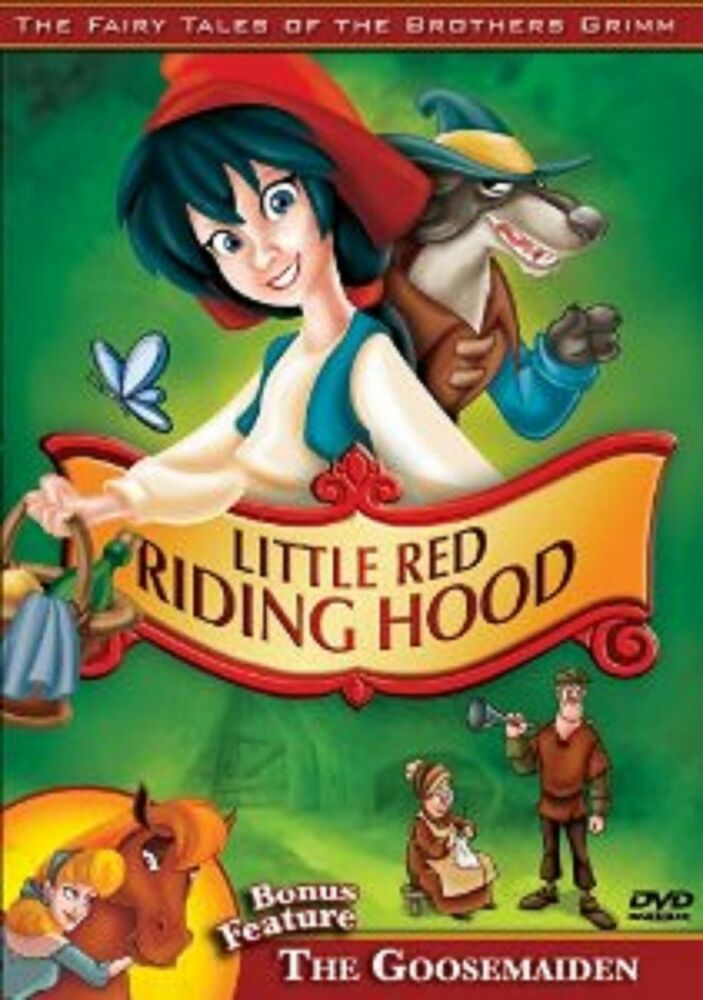 Grimm Fairy Tales Little Red Riding Hood Fairy Tales of ...