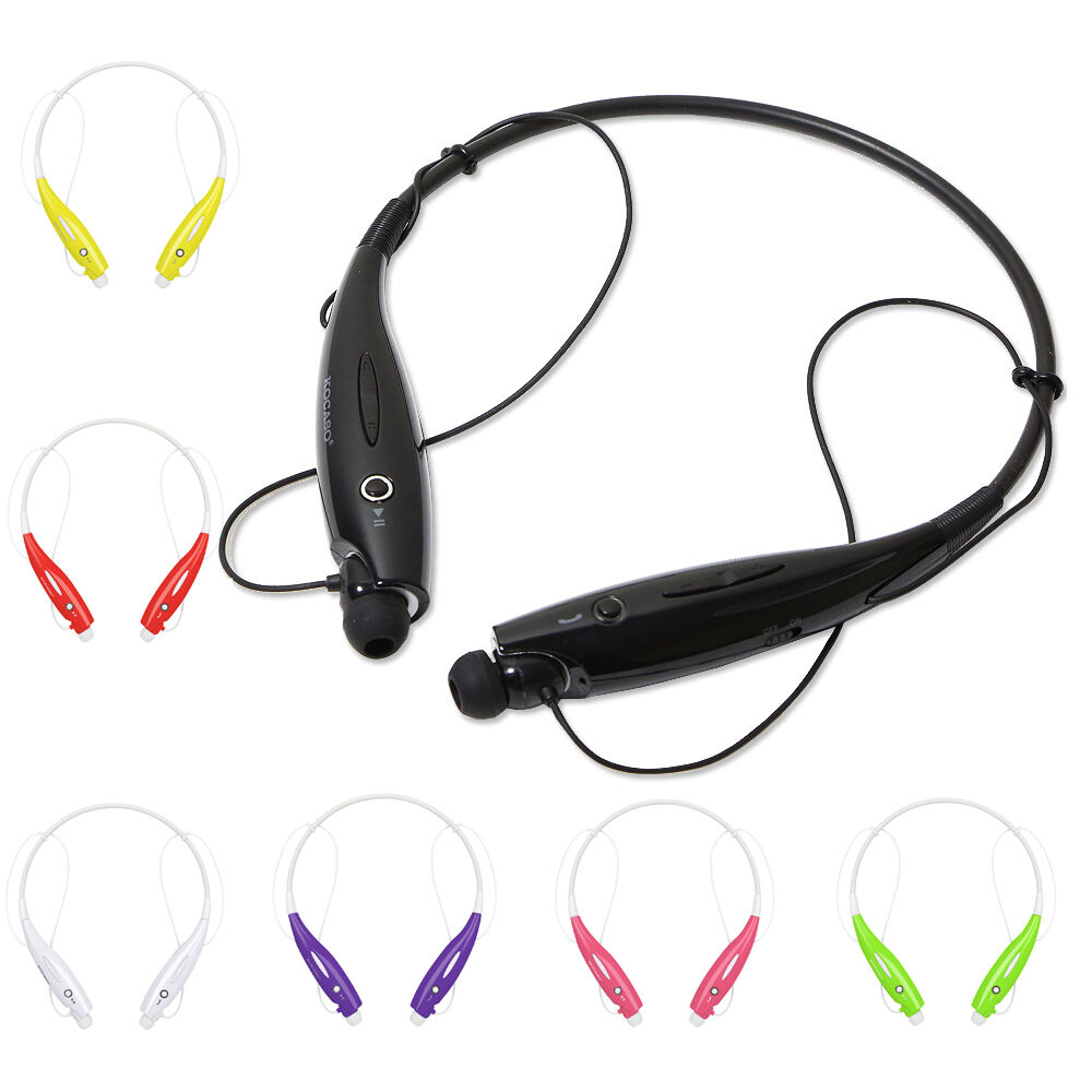 wireless bluetooth sport stereo headset earbuds iphone 6 6s samsung lg universal ebay. Black Bedroom Furniture Sets. Home Design Ideas