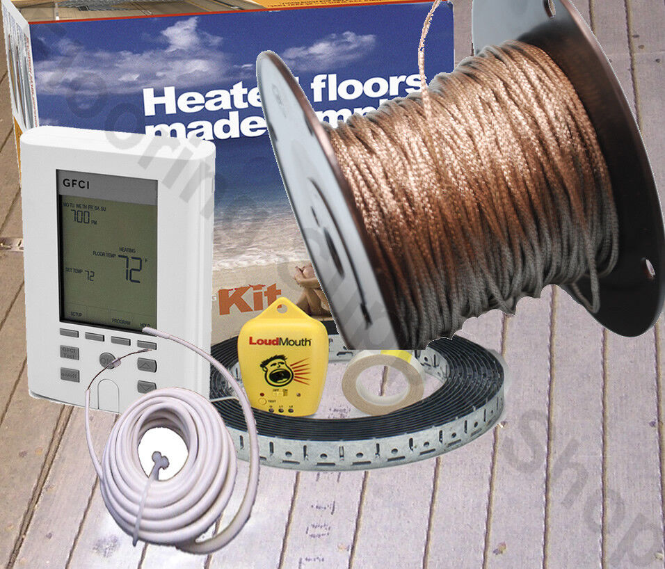 Floor Heat Cable Locators : Radiant floor heating cable spool volt made in the