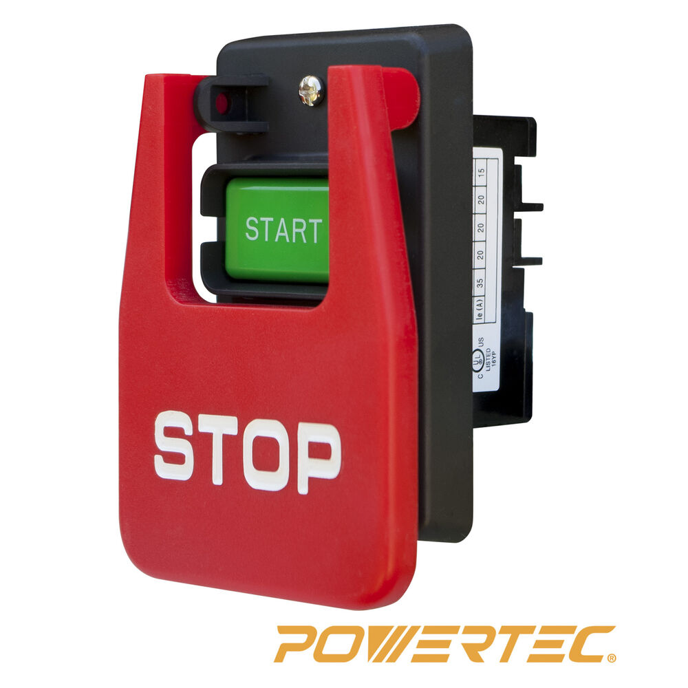 POWERTEC 71007 110 220 Volt Paddle Switch eBay