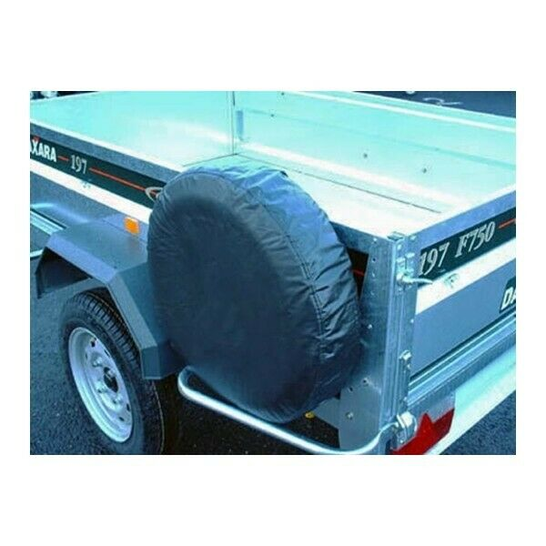 maypole trailer spare wheel cover for 8in diameter wheels 94708 ebay. Black Bedroom Furniture Sets. Home Design Ideas