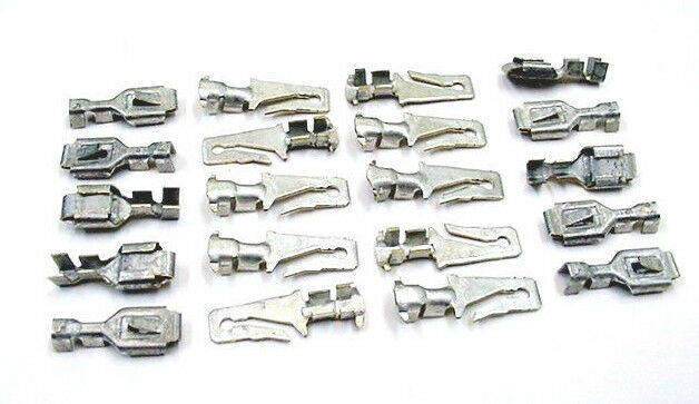 details about chevrolet gm 20pc 16-14 awg m/f wiring harness terminals  crimp connectors nos
