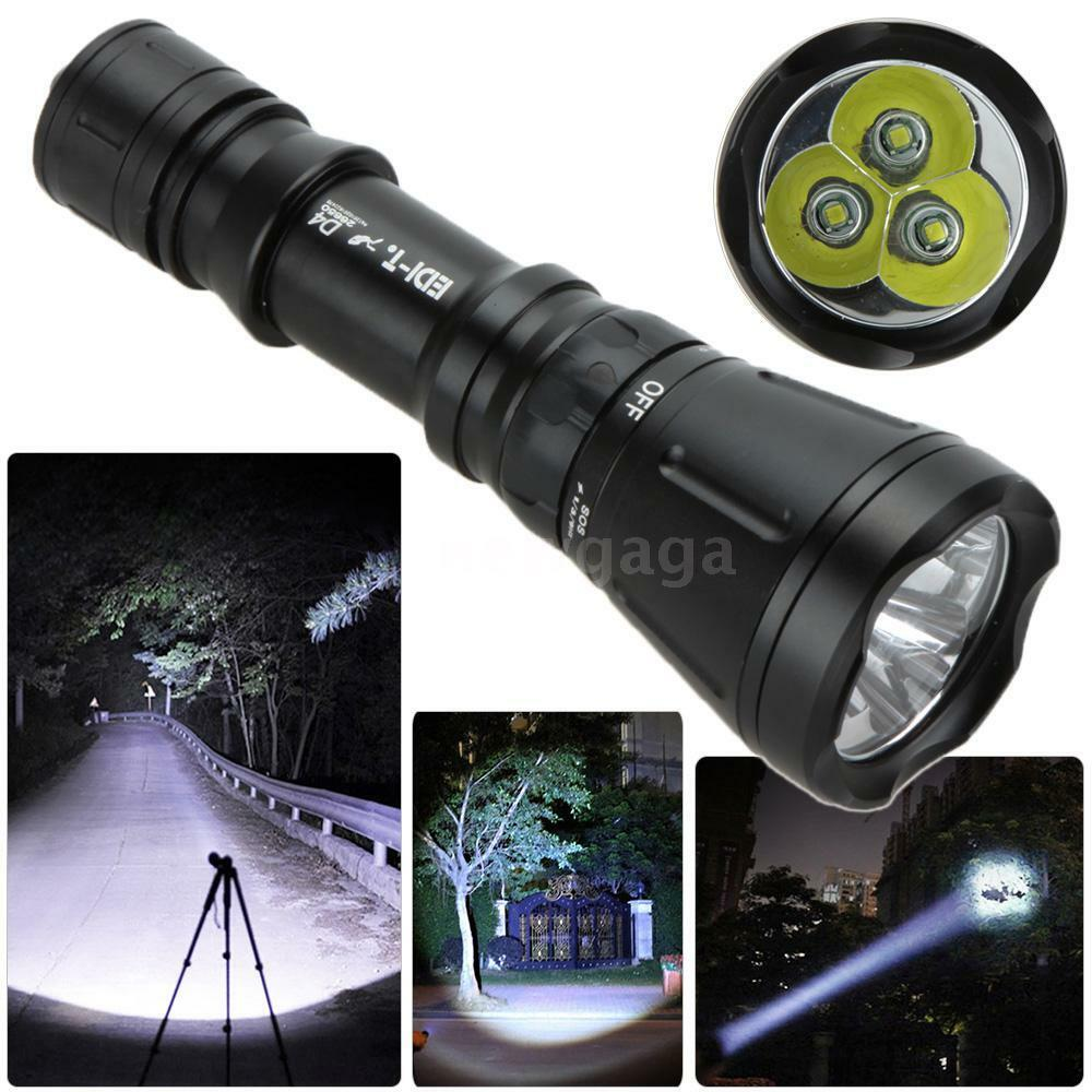5000 lumen 60m xm l t6 led diving flashlight scuba lamp. Black Bedroom Furniture Sets. Home Design Ideas
