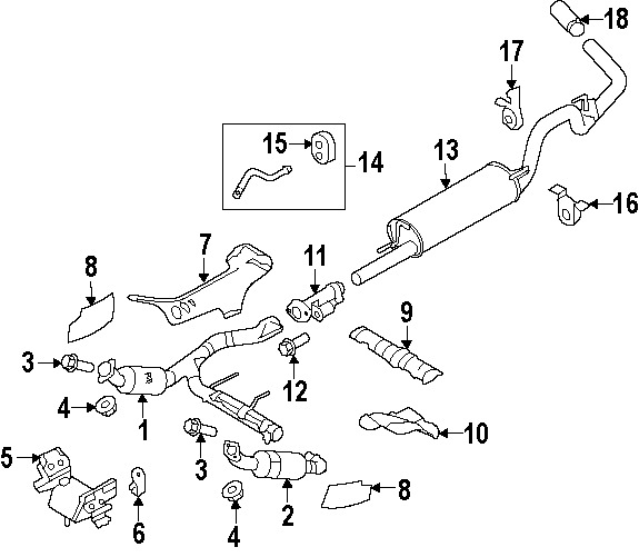 2000 f150 exhaust diagram  2000  free engine image for user manual download