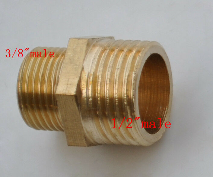 New brass material npt g quot male transfor