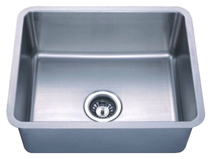 Dowell Sinks : Dowell 6005-2117 18 Gauge Undermount Stainless Steel Single Bowl ...