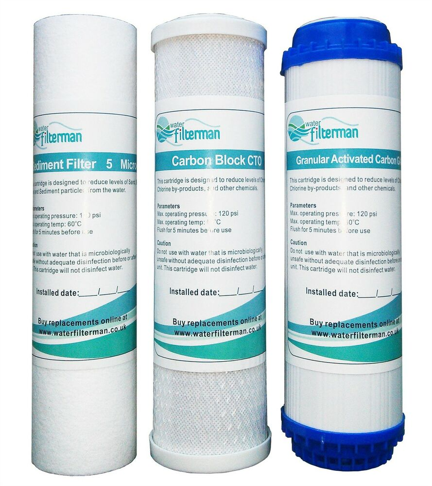 3 Pre Filters For Reverse Osmosis Water Filters