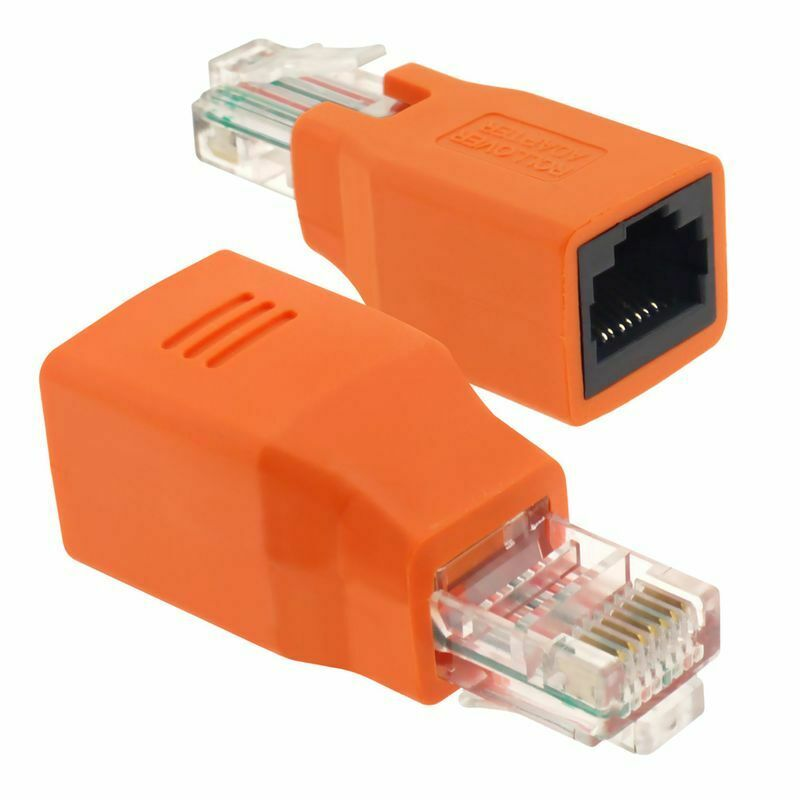 Connected Crossover Cable Rj45 M F Adapter Male To Female