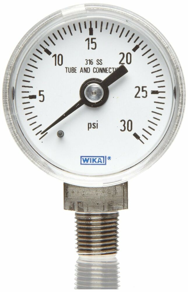 Fork Lift Gauge : Wika industrial copper alloy liquid pressure gauge part