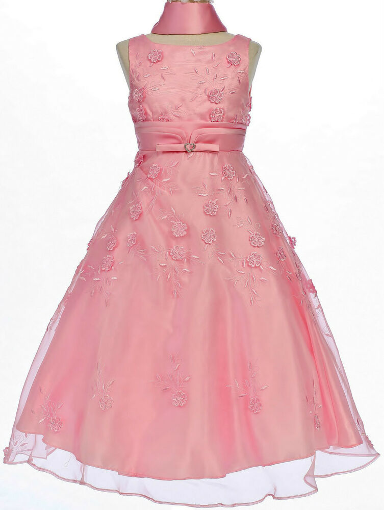 Children Girl Teen Pageant Prom Party Wedding Holiday