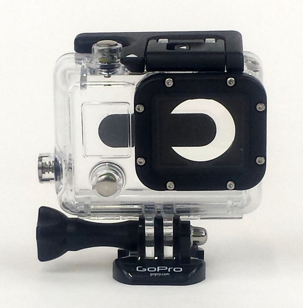 genuine gopro hero 3 underwater waterproof protective dive housing case ebay. Black Bedroom Furniture Sets. Home Design Ideas
