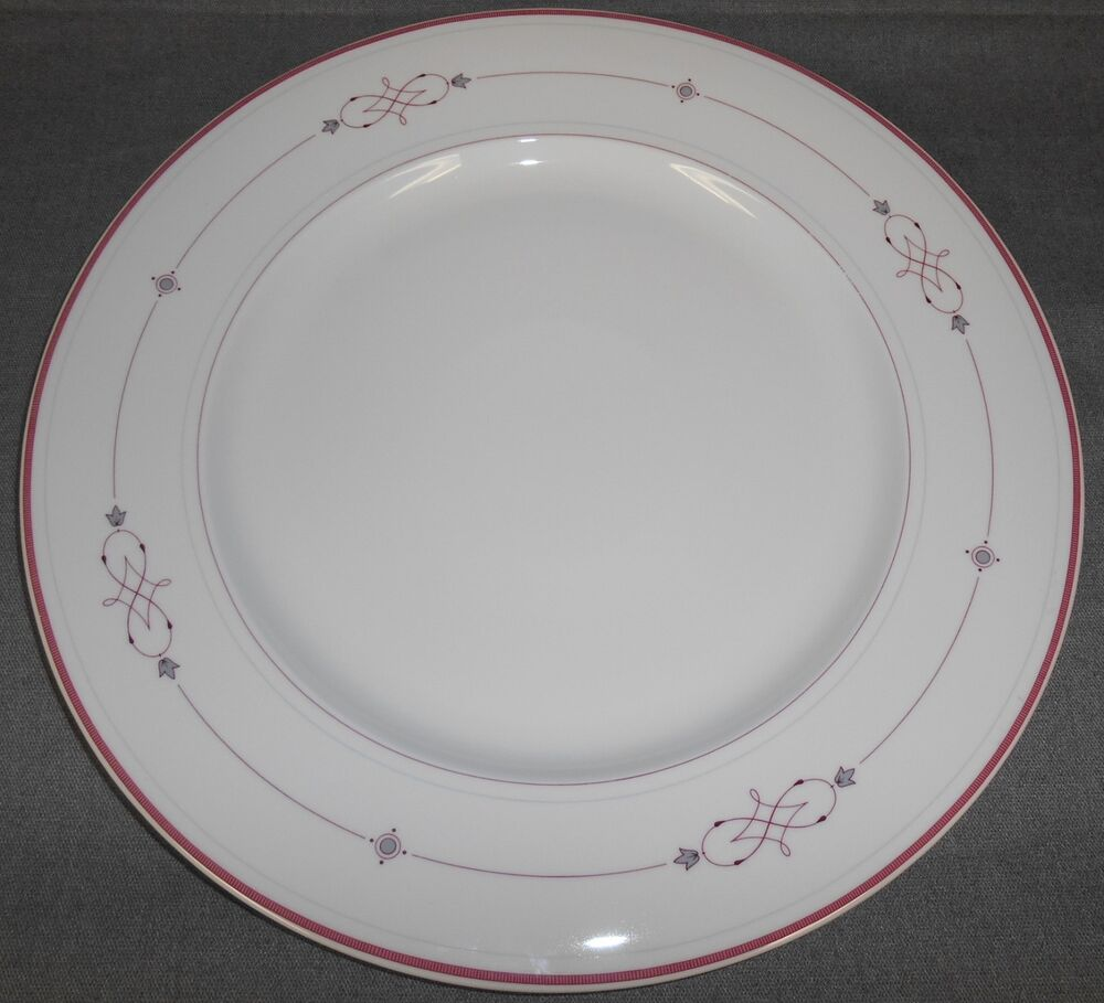 villeroy boch heinrich aragon pattern bone china serving platter chop plate ebay. Black Bedroom Furniture Sets. Home Design Ideas
