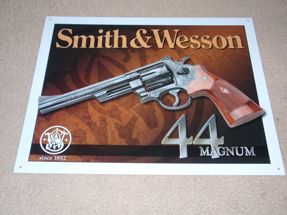 Man Cave Guns For Sale : Smith wesson magnum gun novelty tin sign man cave guns