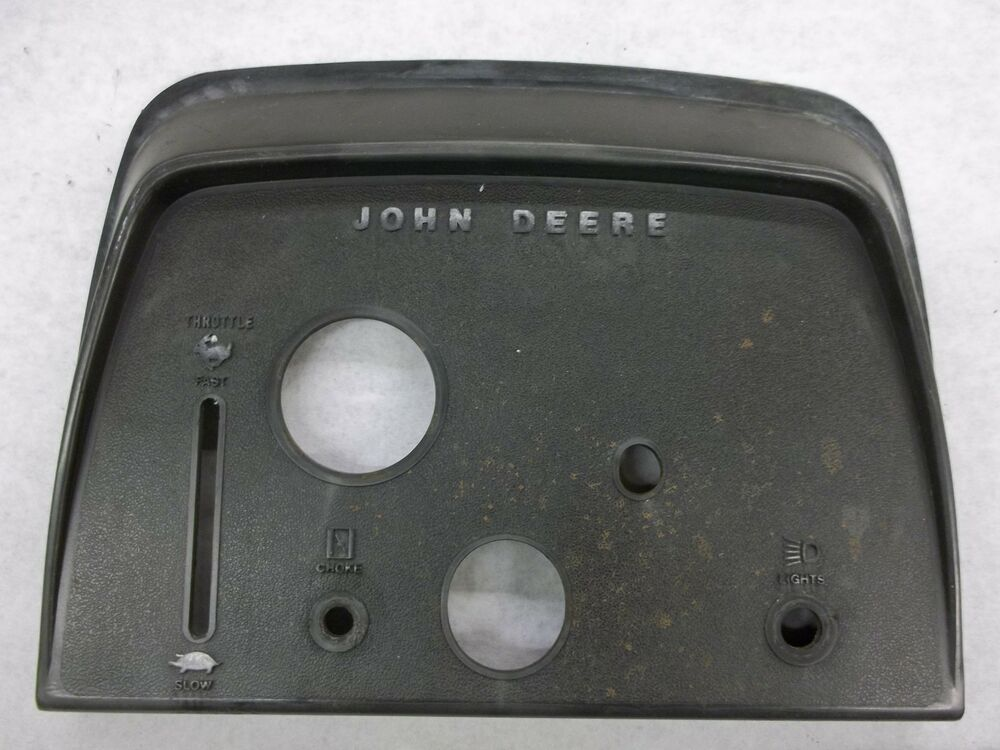 John Deere 214 >> John Deere 210 Tractor Dash with manual PTO Also fits 212 214 and 216 models | eBay