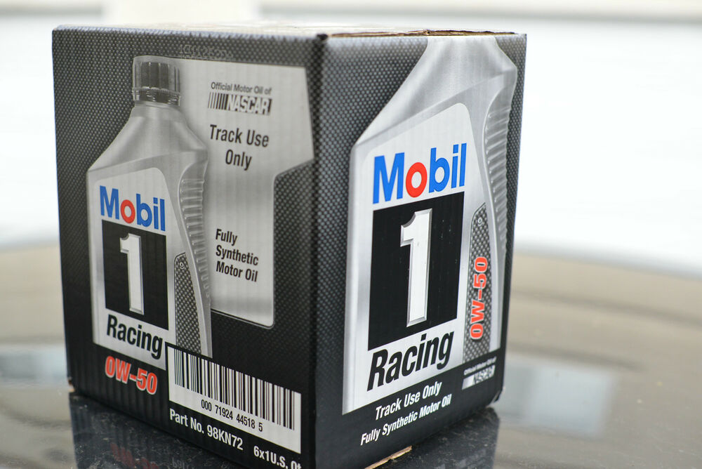 Free shipping mobil 1 racing oil 1 case 6 quarts 0w 50 for Case of motor oil prices