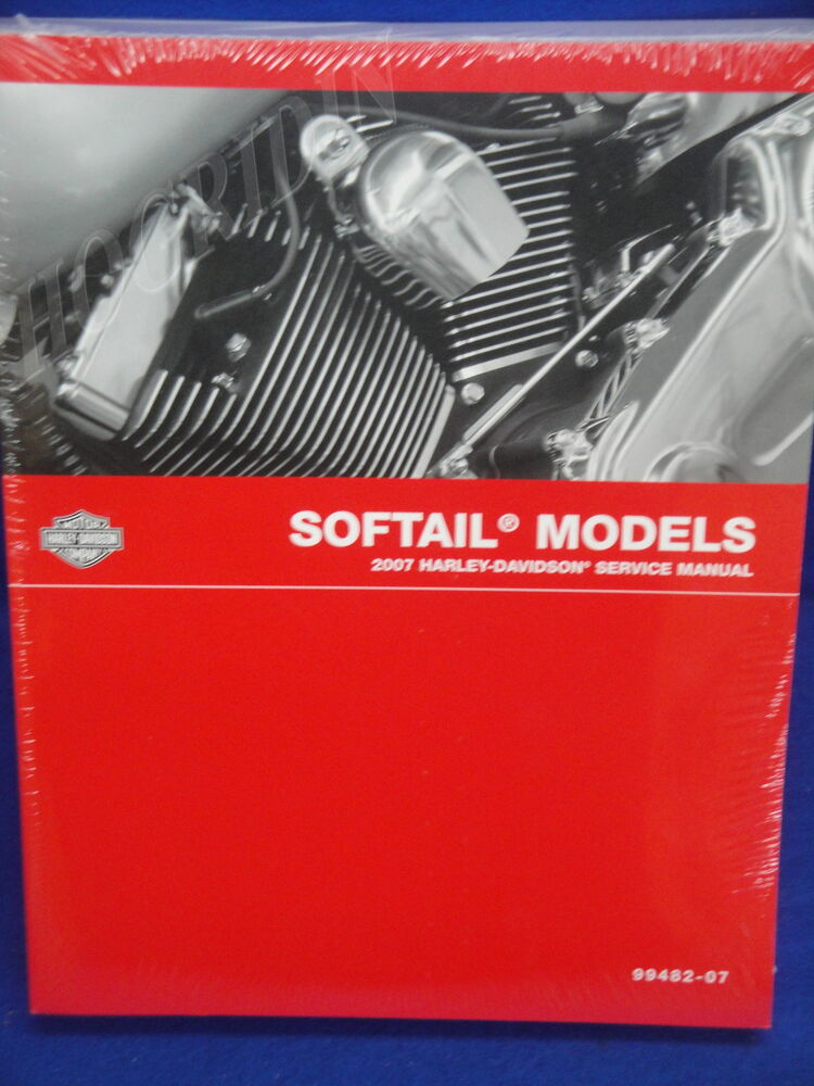 Service manual 1998 Heritage softail on