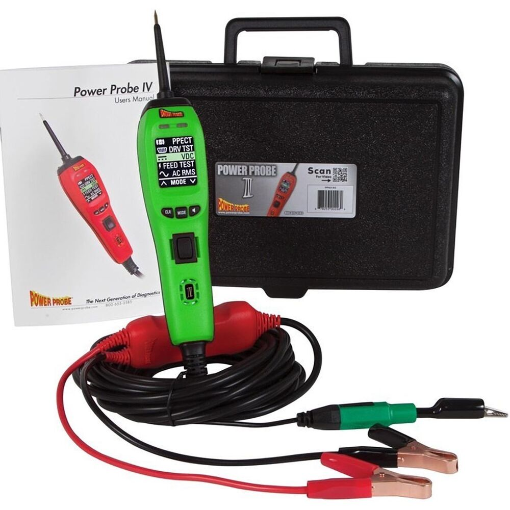 Power Tool Tester : Power probe pp as powerprobe iv diagnostic electronic