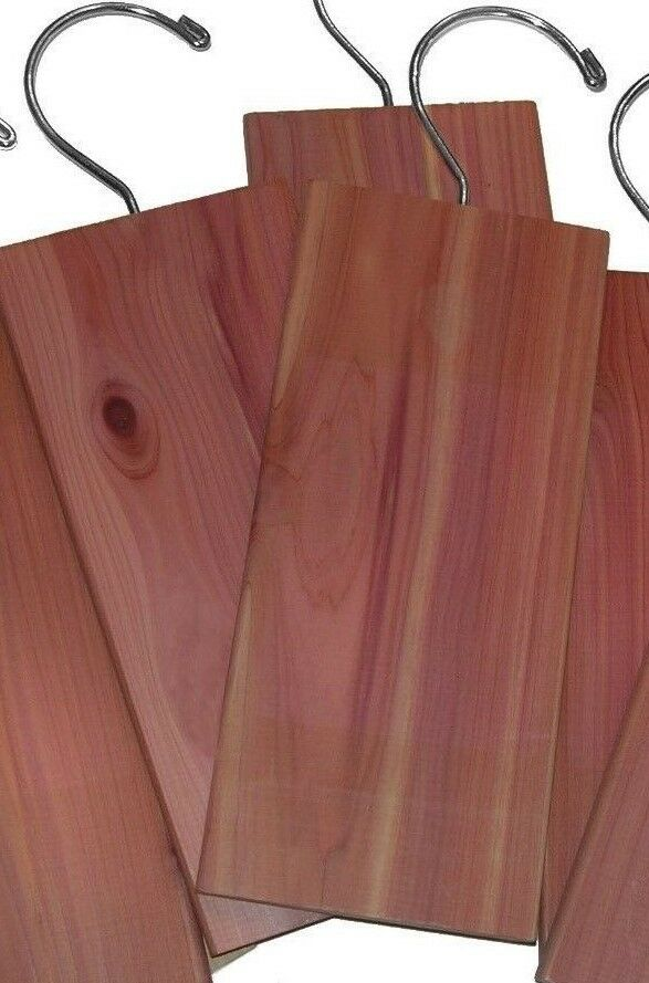 2 piece aromatic cedar hang ups for closet repels moths. Black Bedroom Furniture Sets. Home Design Ideas
