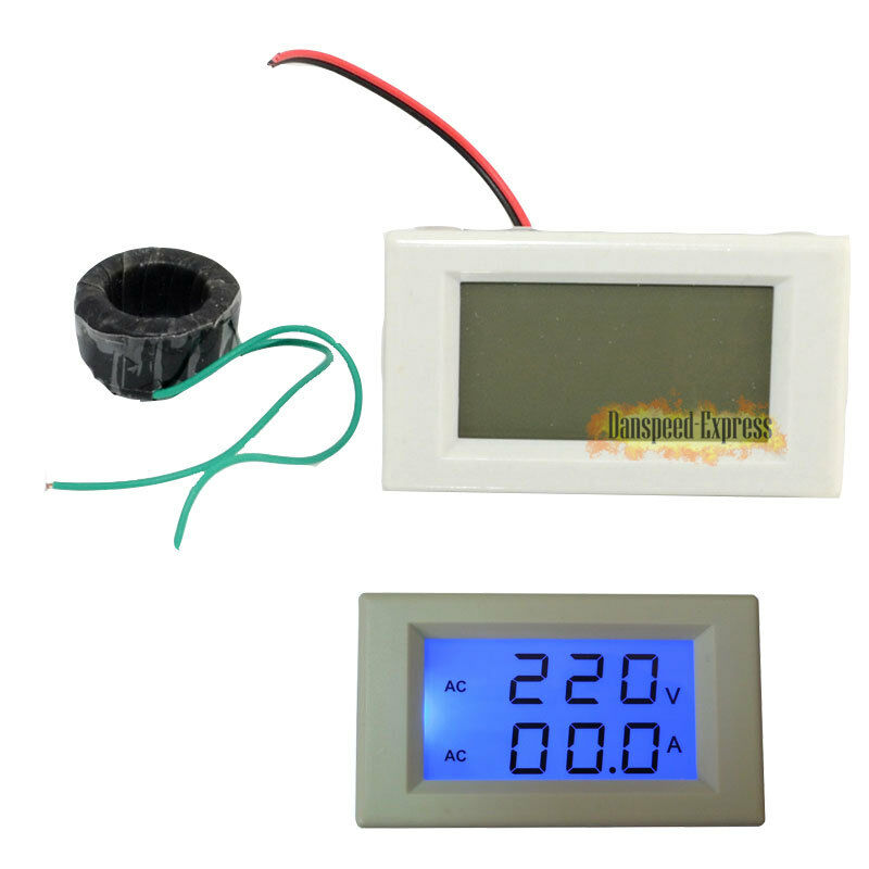 Ac Amp Meter Panel : Led ac meter digital voltmeter ammeter panel amp volt