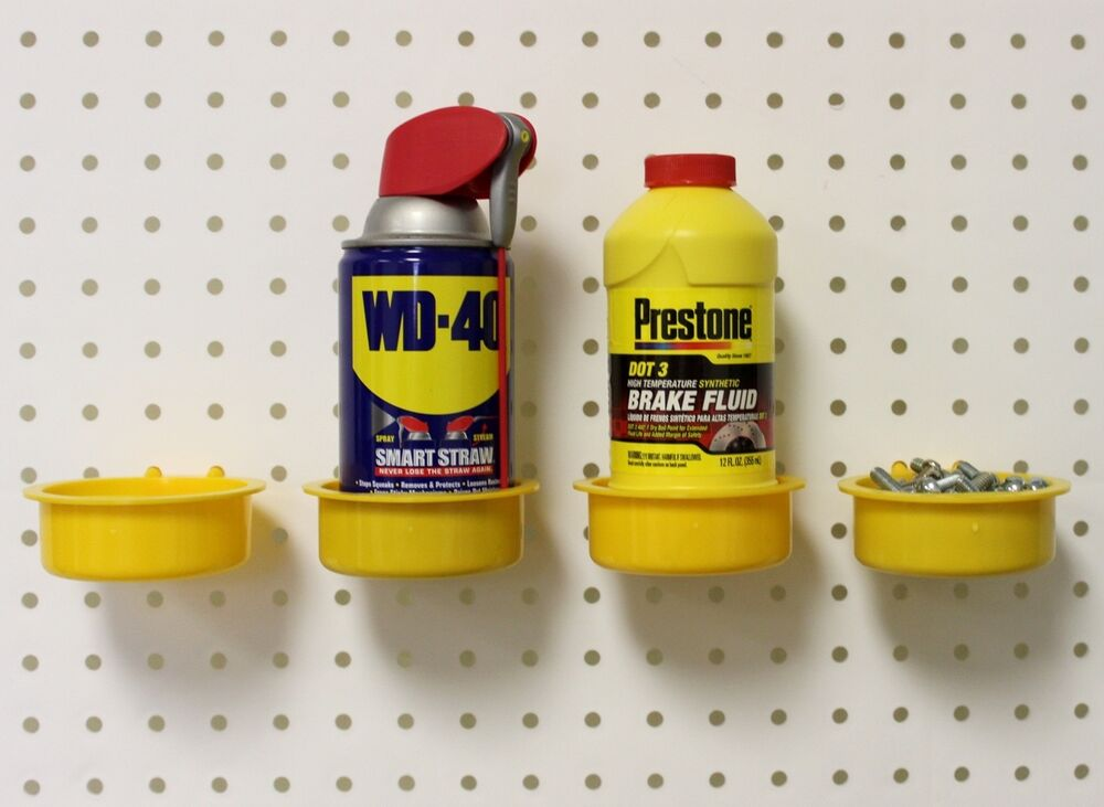 Wallpeg 5 Round Bins Fits 1 4 Quot Hole Size Pegboard Amp Craft