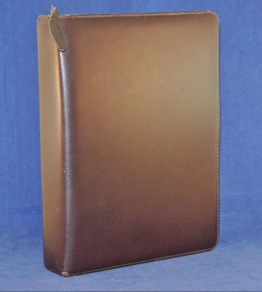 """1.5"""" Rings CLASSIC Leather Franklin QUEST (Covey) Binder"""