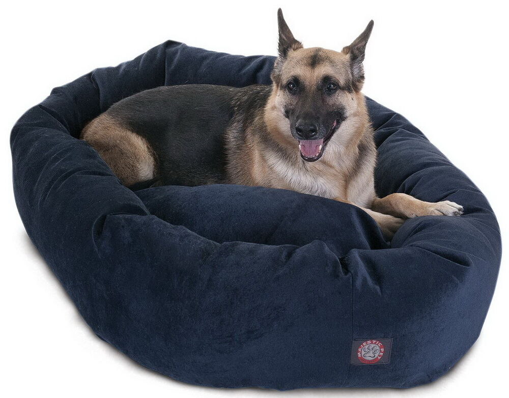 New 52 Quot X 35 Quot Large Breed Dog Bed Micro Velvet Big Pet