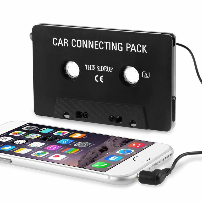 Audio Cassette Tape Adapter Aux Cable Cord 3.5mm Jack for ...