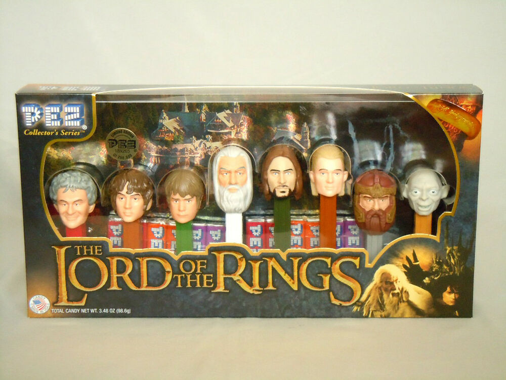 Lord Of The Rings Pez Dispensers Ebay