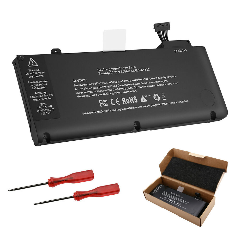 battery for apple macbook pro 13 39 39 a1322 a1278 mid 2009. Black Bedroom Furniture Sets. Home Design Ideas
