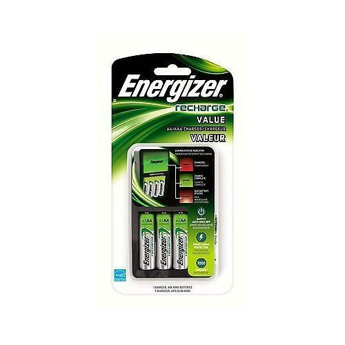 energizer value charger with aa rechargeable nimh batteries chvcmwb 4 best deal ebay. Black Bedroom Furniture Sets. Home Design Ideas