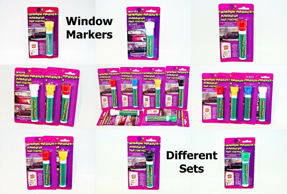 Washable Car Paint Markers