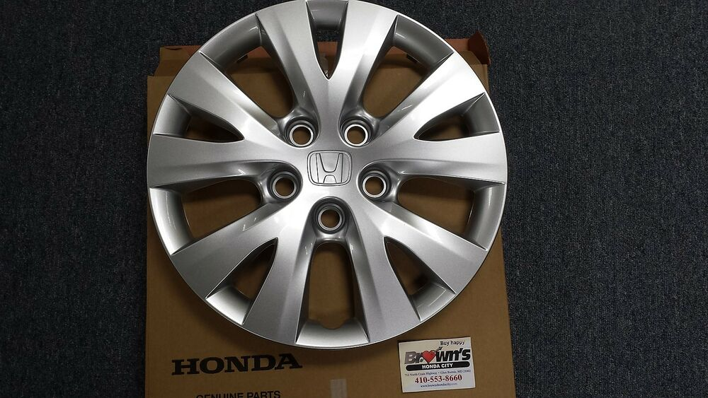new genuine honda civic 15 wheel cover hub cap 44733 tr0. Black Bedroom Furniture Sets. Home Design Ideas