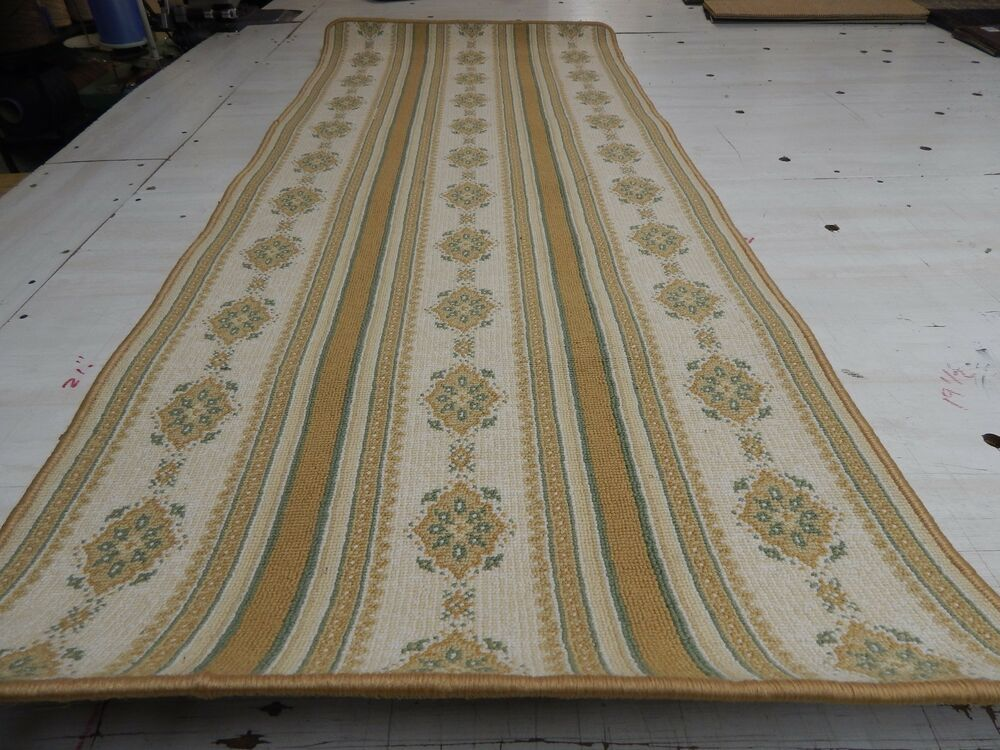 Runner rug wool blend woven carpet choice size ebay for Woven carpet for stairs