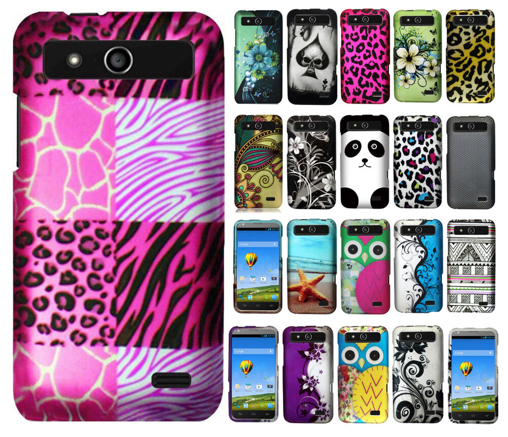 detailed look bb43c 31a41 For Boost Mobile ZTE Speed N9130 Rubberized Hard Case Phone Cover + Screen  Guard | eBay