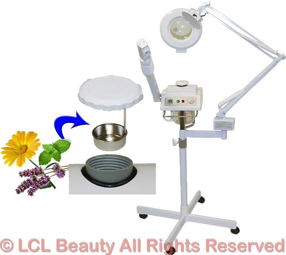 2 In 1 Herbal Aromatherapy Facial Steamer Mag Lamp Spa