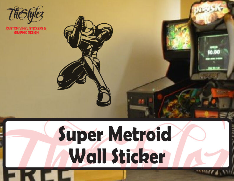 super metroid custom oversize vinyl wall sticker ebay oversize high150cm elephant tree wall decals wall mural