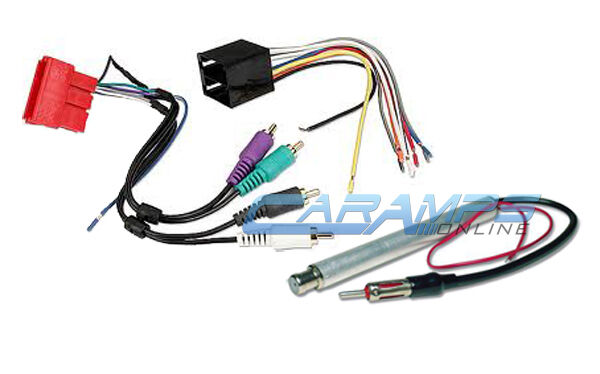 Car stereo bose concert or symphony wiring harness w
