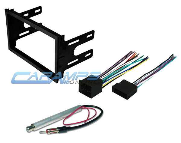 Volkswagen Wiring Harness Stereo : Vw car stereo double din radio dash installation trim