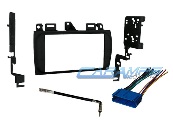 Cadillac Double 2 Din Car Stereo Radio Dash Installation
