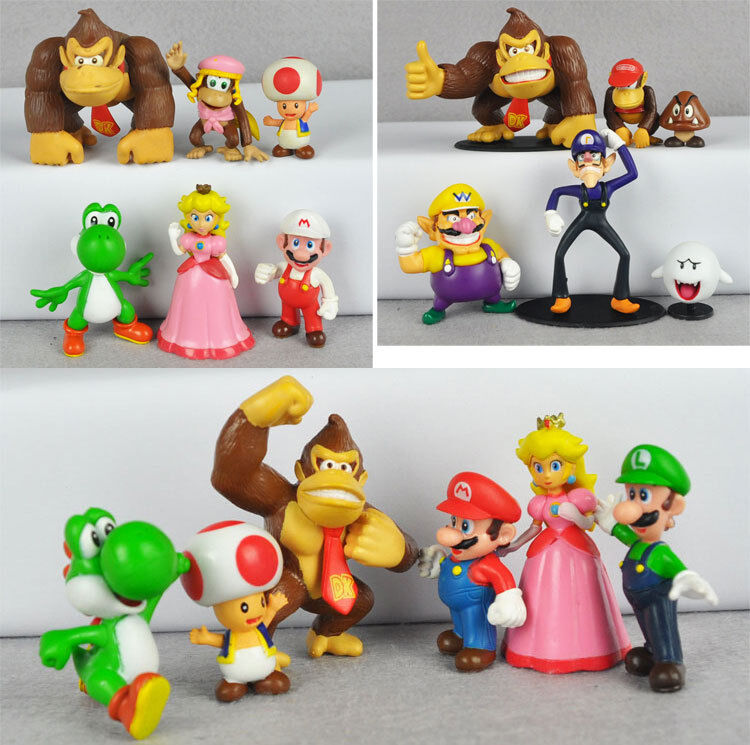 Toys For Brothers : Lots of super mario brothers figure toy luigi yoshi