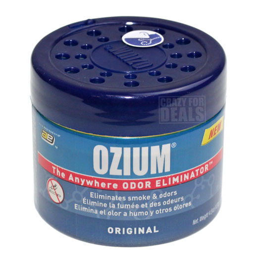 Ozium Original 4 5 Oz Gel Air Freshener Sanitizer Smoke