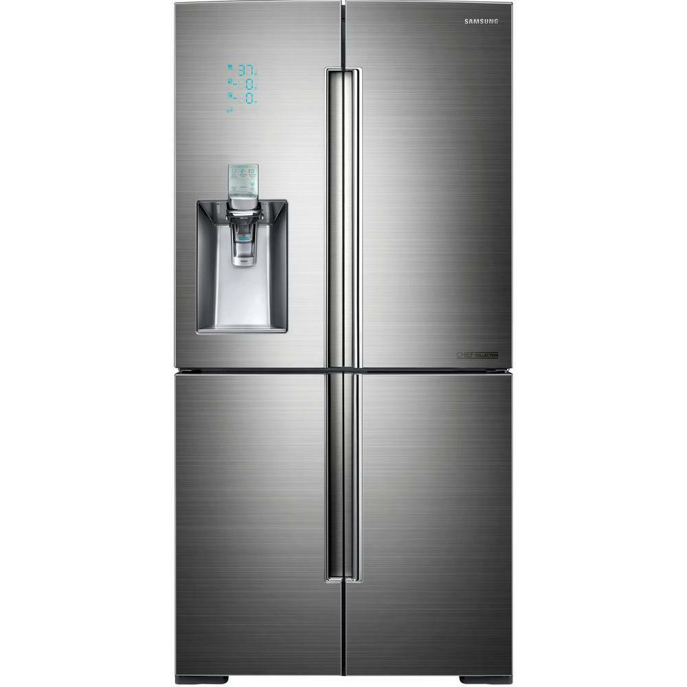 Samsung Stainless 34 Cu Ft French 4 Door Bottom Freezer