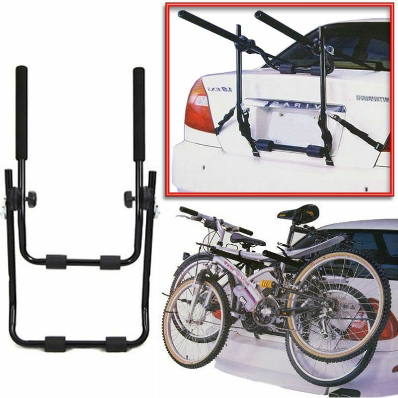 2 bicycle bike car cycle carrier rack universal fitting for Is a bicycle considered a motor vehicle
