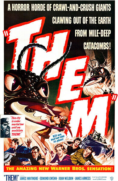 Them - 1954 - Movie Poster | eBay