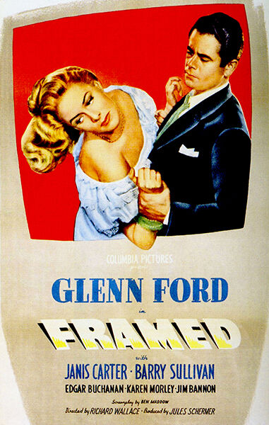 Framed - 1947 - Movie Poster | eBay
