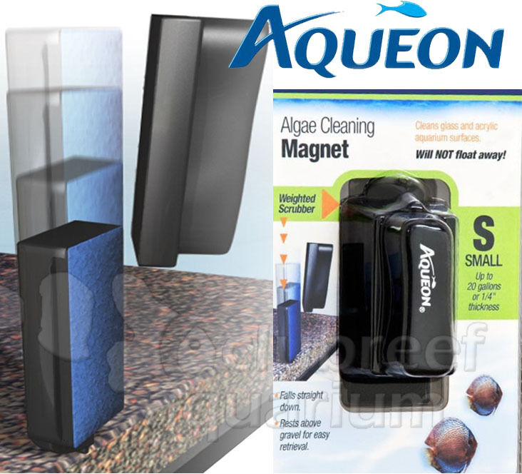 aqueon glass acrylic aquarium algae cleaning magnet small for up to 20 gallon ebay. Black Bedroom Furniture Sets. Home Design Ideas