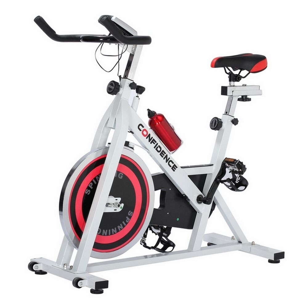 Confidence Pro Indoor Cycling Exercise Bike W/ 13kg ...